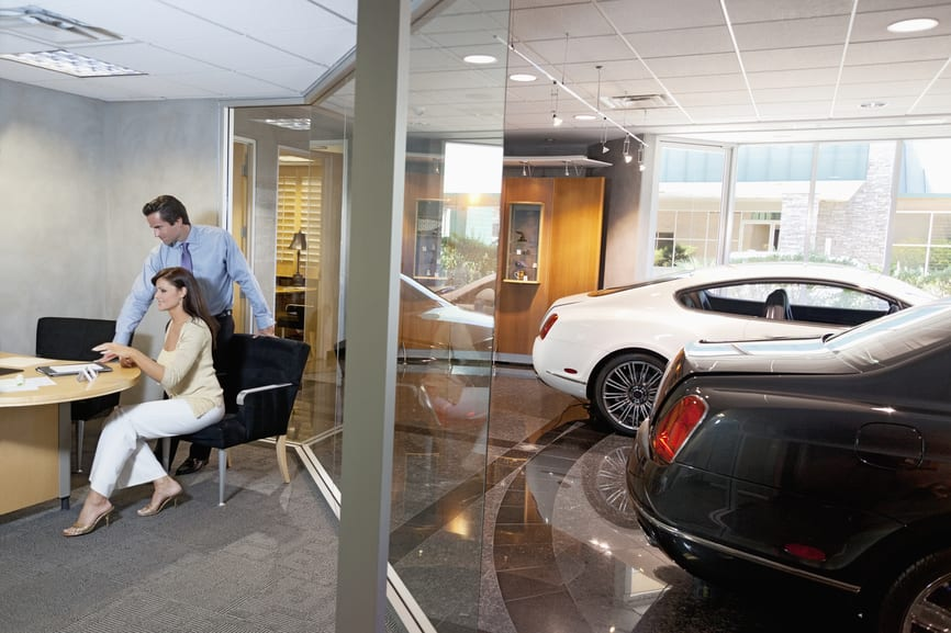 Car Dealership Cleaning