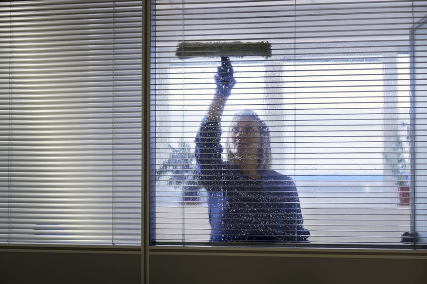 Cleaning Office Window Coverings