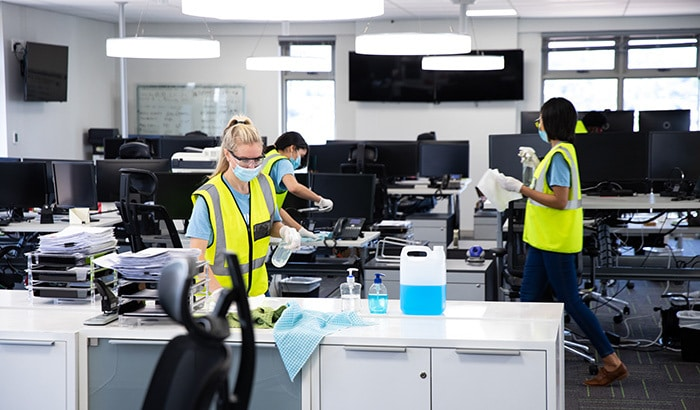 How to Keep a Clean and Healthy Work Environment