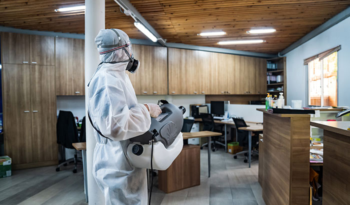 Workspace Cleaning, Sanitizing, and Disinfecting